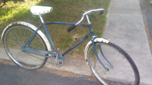 """Antique Raleigh made """"Garry"""" bicycle"""