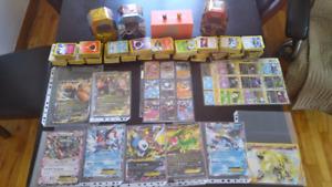 3100 cartes pokémon + 15 Ex