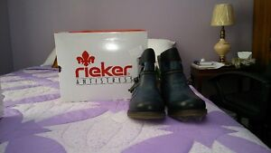 Rieker Leather Winter Boots