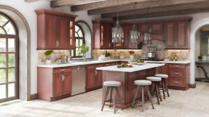 Walnut solid wood maple cabinets+Top & vanity on PROMOTION!!!