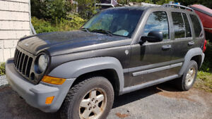 2005 Jeep Liberty SUV Runs Great Inspected till DEC 2019