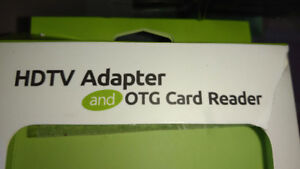 HDTV Adapter OTG card reader