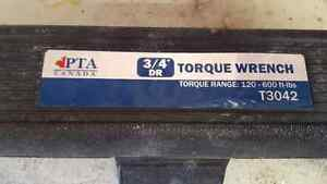 "3/4"" torque wrench"