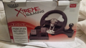 PC racing gaming system