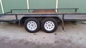 $50 Car trailer hire 15 fits tilt tray Deception Bay Caboolture Area Preview