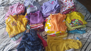 24 month girl summer clothes lot