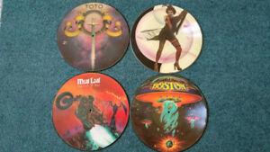 Vinyl LP Picture Disc Album Collection