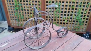 Decorative Metal Tricycle / Bicycle / Unicycle item(s)