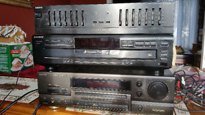 CD Player, Receiver and Equalizer