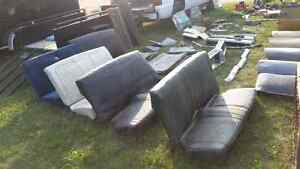 1967-69 camaro and firebird rear seats and other parts