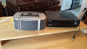 Air Purifier and VCR