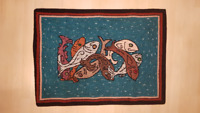 PEI hooked rugs - New, beautiful craftsmanship, mint condition