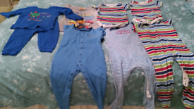 Selection of baby clothes size 12 to 18 months