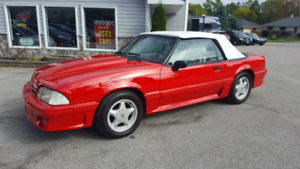 1992 Mustang Gt Convertible Very Very Clean !!!!
