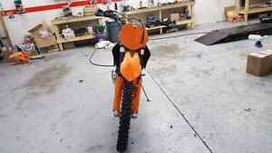 2008 ktm xcw xc-w 250 two stroke cash or trade for sled Edmonton Edmonton Area image 3