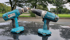 Two Makita Drills For Sale Working