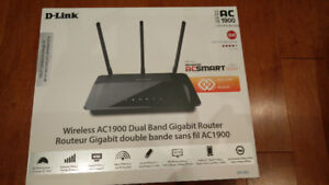 D-LINK AC 1900 Wireless Dual Band Gigabit Router for sale