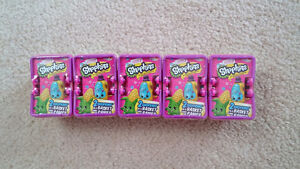 Shopkins Season 2 Blind Baskets x 5 - Brand new sealed