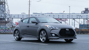 2013 Hyundai Veloster Turbo Hatchback LOW KM