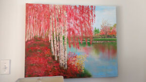 Beautiful Oil on Canvas Paintings -Ready to Hang- Perfect Decora