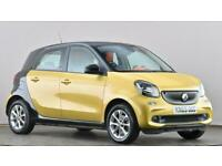 2015 smart forfour hatchback 1.0 Passion Premium 5dr Hatchback petrol Manual