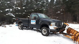 04 f250 with 9ft fisher plow