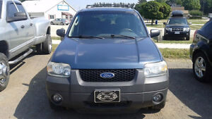 2005 Ford Escape XLT SUV, Safety and ETest