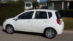 Chevrolet Aveo low kilometres and clean