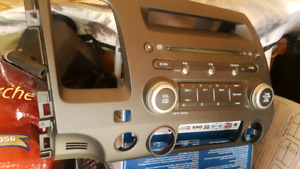 2007 honda civic radio
