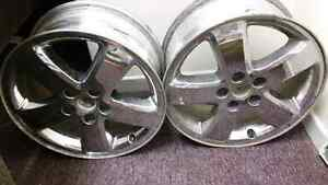 "Two 17"" Pontiac Rims"