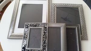 6 Heavy Metal Table top/Wall Photo Picture Frames All Sizes
