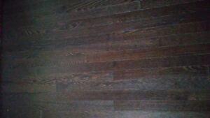 plancher de bois franc