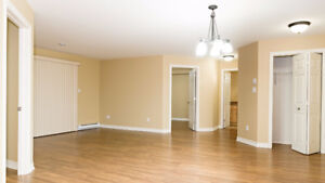 Large bright open concept unit in quiet building - Shediac, NB