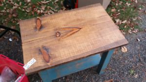 Pine end tables (2)