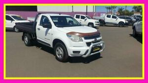 2012 Holden Colorado RG DX (4x4) White 5 Speed Manual Cab Chassis Dubbo Dubbo Area Preview