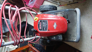 Briggs and Stratton pressure washer/ snowblower