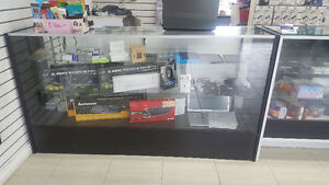 2 GLASS DISPLAY COUNTER FOR SALE