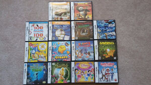 DS games $55 for ALL 13 GAMES or $6 each
