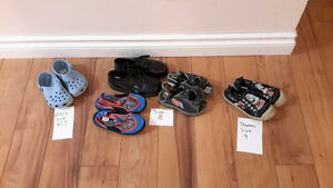 little boy shoes size 6/7, size 8 and size 9