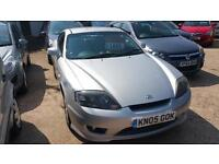 HYUNDAI COUPE S..1-OWNER, FULL HISTORY 2005 Petrol Manual in Silver