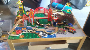 Kidcraft Train Table with loads of extras!