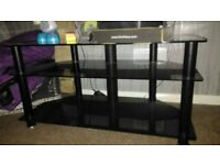 Black TVs unit