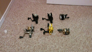 Spinning and baitcasting fishing reels for sale