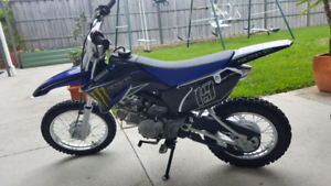 Yamaha TTR110 new w/extras 2017. $3k ono FMF power core,+ extras