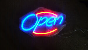 OPEN Sign for sale!!-Reduced price for quick sale