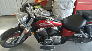Honda Shadow with Accessories