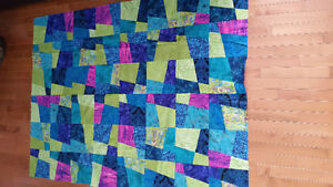 Top of single quilt