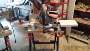 Miter saw and table saw..contracters