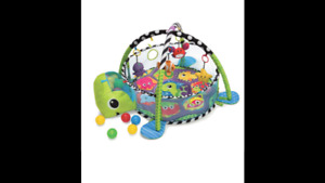 Infantino Grow With me Activity Gym and ball pit.