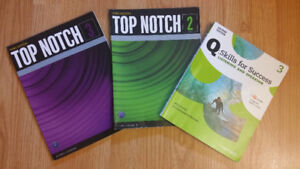 SELLING BOOKS TOP NOTCH 2 & 3, AND SKILLS FOR SUCCESS